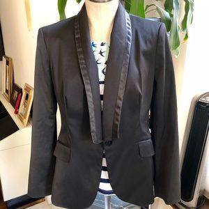 Zara Tuxedo Black Blazer